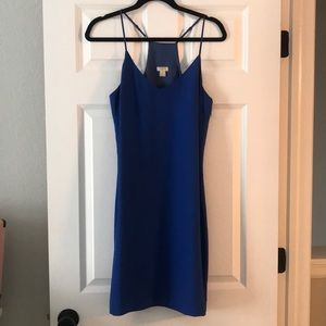 Royal blue J.Crew dress